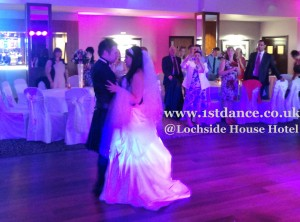 Wedding Dj in Ayrshire, disco Lochside Hotel, 1stdance.co.uk, Wedding Dj near Glasgow